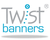 view our main website - twistbanners